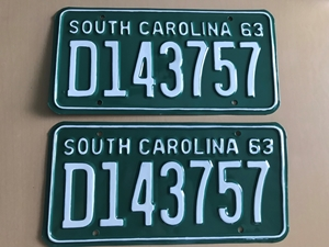 Picture of 1963 South Carolina Car Pair #D143757