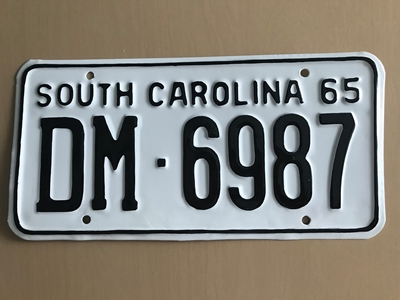 Picture of 1965 South Carolina #DM-6987
