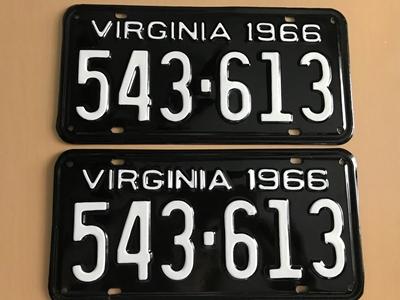 Picture of 1966 Virginia Car Pair #543-613