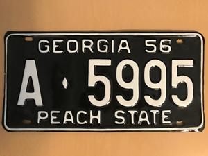 Picture of 1956 Georgia #A-5995