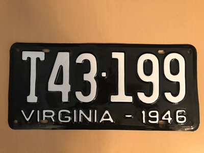 Picture of 1946 Virginia Truck #T43-199