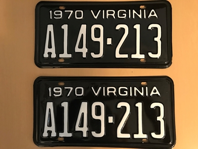 Picture of 1970 Virginia #A149-213