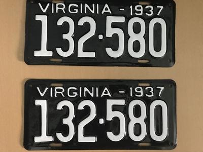 Picture of 1937 Virginia Car Pair #132-580