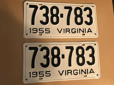 Picture of 1955 Virginia Car Pair #739-783