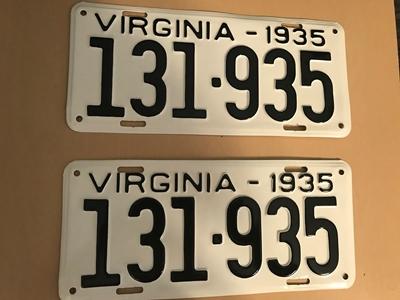 Picture of 1935 Virginia Car Pair #131-935