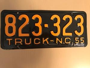 Picture of 1955 North Carolina Truck #823-323