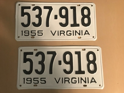 Picture of 1955 Virginia Car Pair #537-918