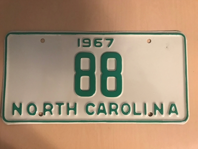 Picture of 1967 North Carolina Car #88