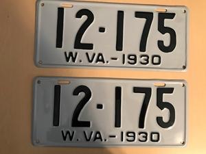 Picture of 1930 West Virginia Pair #12-175