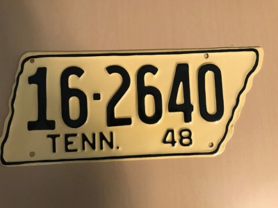 Picture of 1948 Tennessee #16-2640