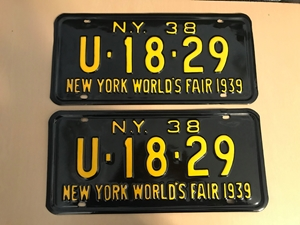Picture of 1938 New York Pair #U-18-29