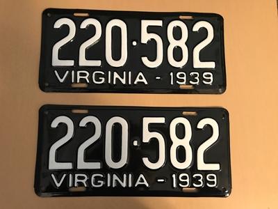 Picture of 1939 Virginia Car Pair #220-582