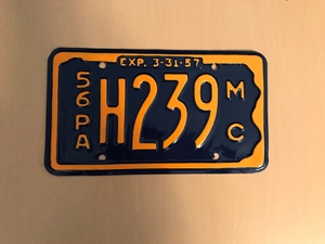 Picture of 1956 Pennsylvania Motorcycle #H239