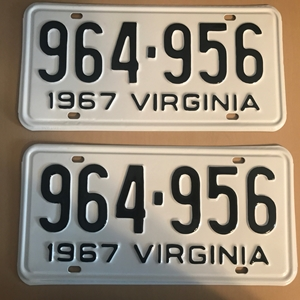 Picture of 1967 Virginia Car Pair #964-956