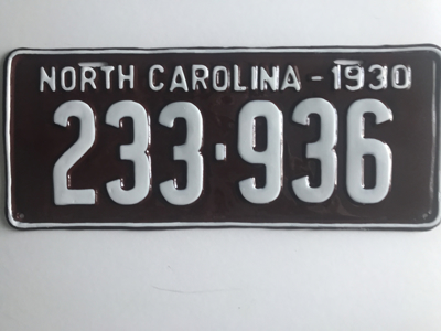 Picture of 1930 North Carolina #233-936