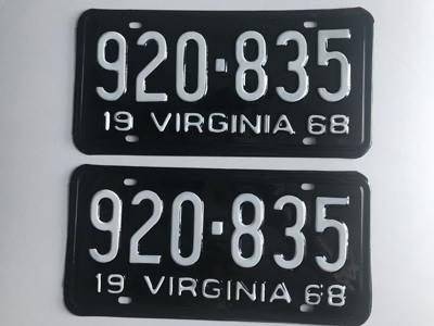 Picture of 1968 Virginia Car Pair #920-835