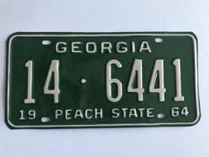 Picture of 1964 Georgia Car #14-6441