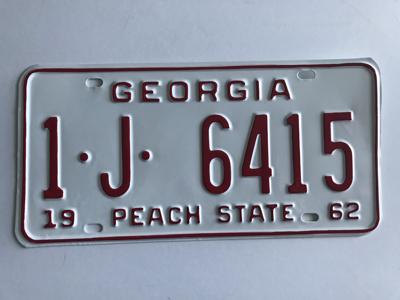 Picture of 1962 Georgia Car #1-J-6415