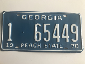 Picture of 1970 Georgia Car #1-65449