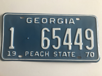 Picture of 1970 Georgia Car #1-65449