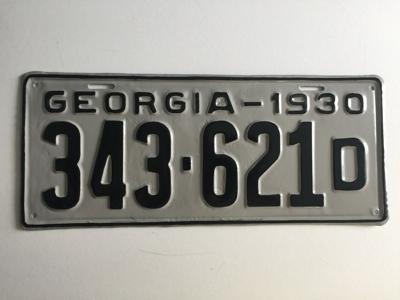 Picture of 1930 Georgia #343-621D