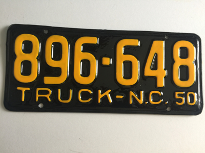 Picture of 1950 North Carolina Truck #896-648