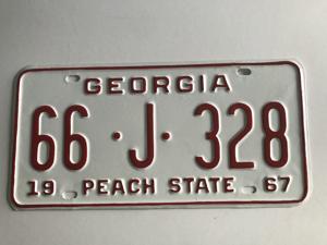 Picture of 1967 Georgia Car #66-J-328
