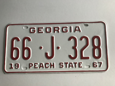Picture of 1967 Georgia Car #66-J-328