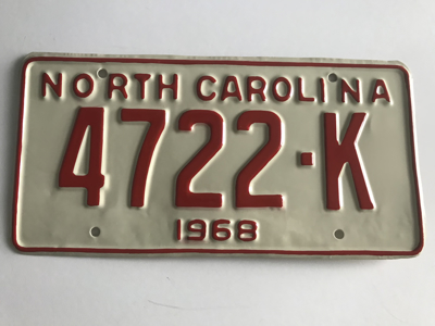 Picture of 1968 North Carolina Truck #4722-K