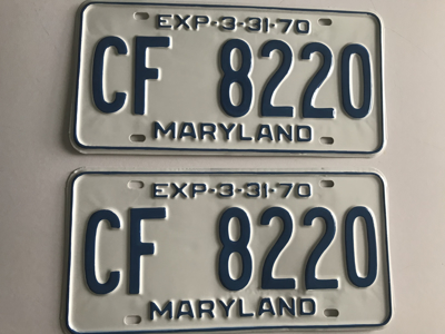 Picture of 1970 Maryland Car Pair #CF-8220