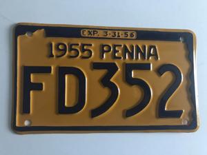 Picture of 1955 Pennsylvania #FD352