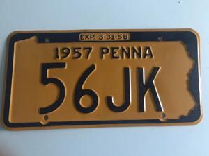 Picture of 1957 Pennsylvania #56JK