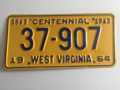 Picture of 1964 West Virginia #37-907