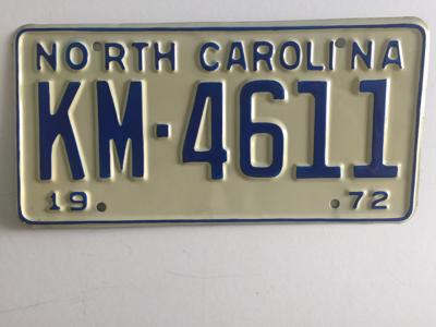 Picture of 1972 North Carolina #KM-4611