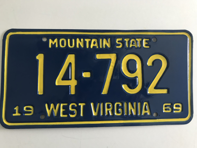 Picture of 1969 West Virginia #14-792