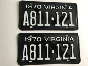 Picture of 1970 Virginia Car Pair #A811-121