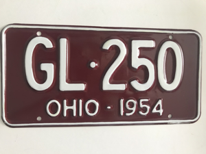 Picture of 1954 Ohio #GL-250