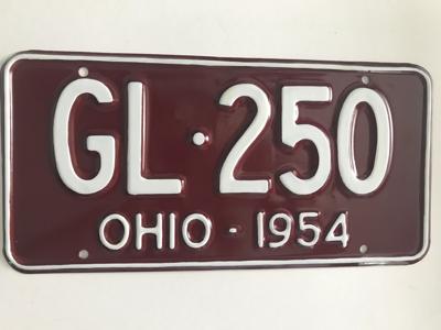 Picture of 1954 Ohio #GL-250
