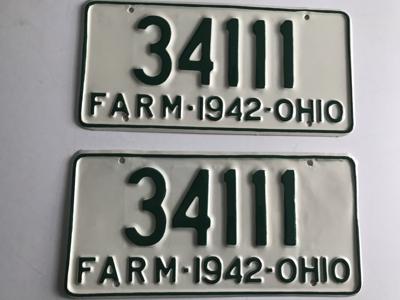 Picture of 1942 Ohio Pair #34111