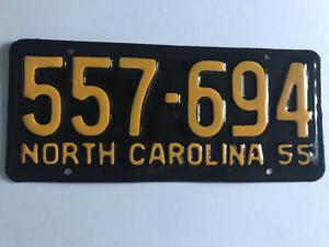 Picture of 1955 North Carolina Car #557-694
