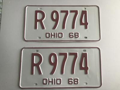 Picture of 1968 Ohio Pair #R-9774
