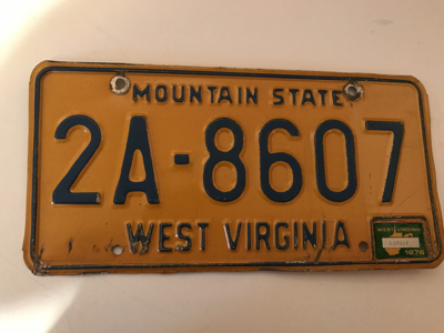 Picture of 1976 West Virginia #2A-8607