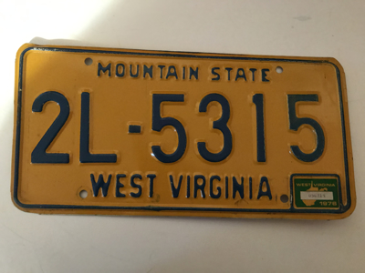 Picture of 1976 West Virginia #2L-5315