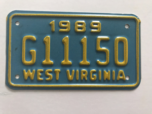 Picture of 1989 West Virginia #G11150