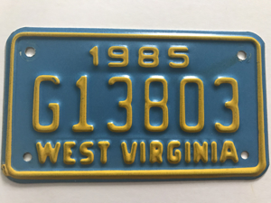 Picture of 1985 West Virginia #G13803