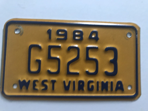 Picture of 1984 West Virginia #G5253