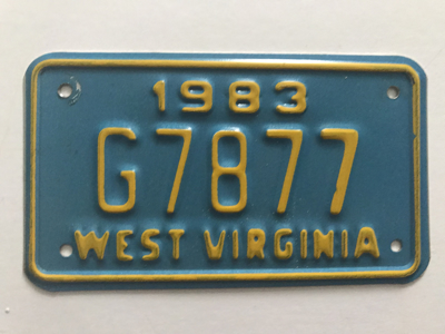 Picture of 1983 West Virginia #G7877
