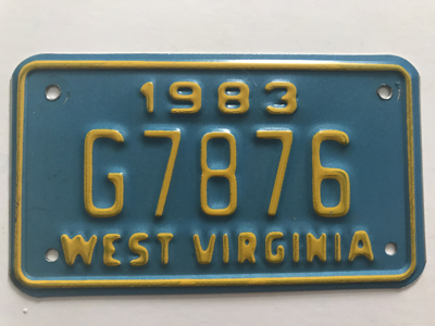 Picture of 1983 West Virginia #G7876