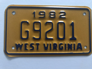 Picture of 1982 West Virginia #G9201