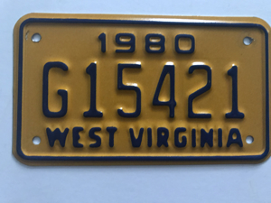 Picture of 1980 West Virginia #G15421